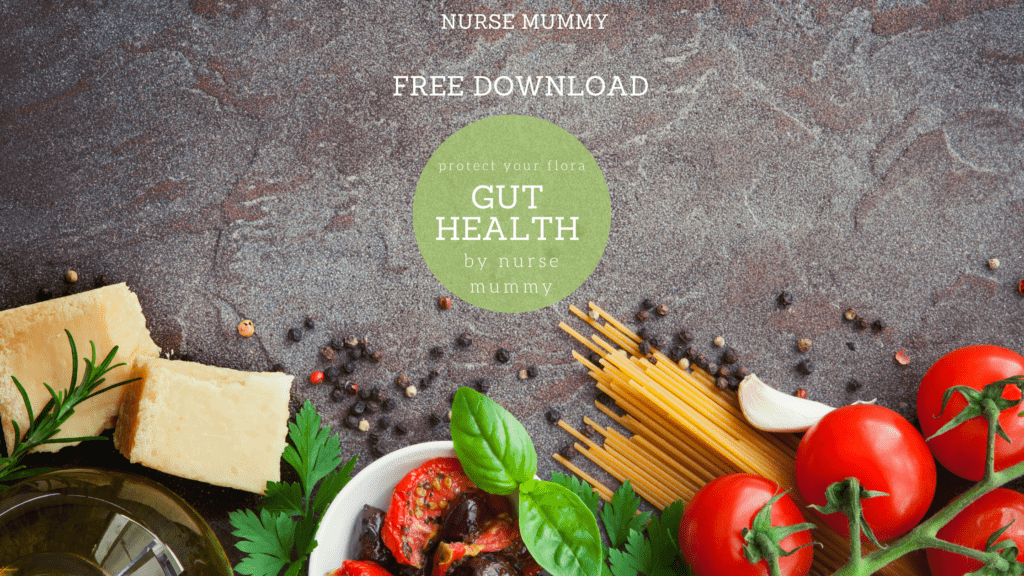 Gut health mini ebook, how to improve gut health and what not to eat