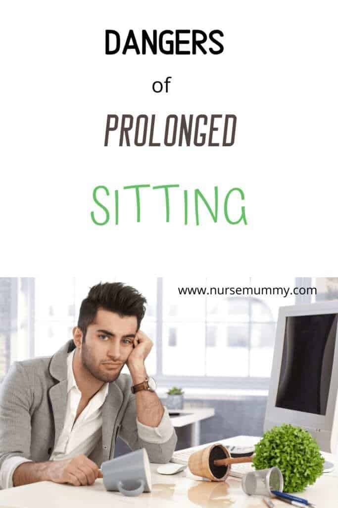 Dangers of sedentary lifestyle, dangers of sitting. Increased health risks and death. 10 health facts you dont know #health #healthfacts #exercise
