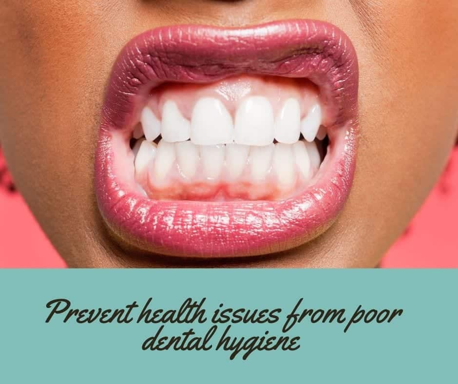 Ways to prevent health issues related to poor dental hygiene