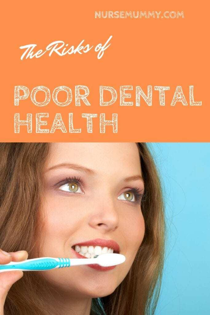 Risks of poor dental health. There are many health issues caused by poor dental health. Some may surprise you