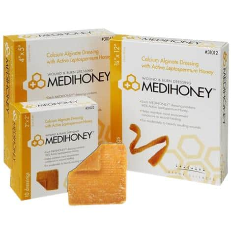 Medihoney alginate wound dressing is perfect for cavity wounds