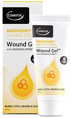 Medihoney Antibacterial Wound Gel with Manuka Honey for wound management