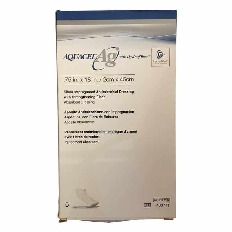 Aquacel ag hydrofibre with silver. A fantastic dressing for infected wounds
